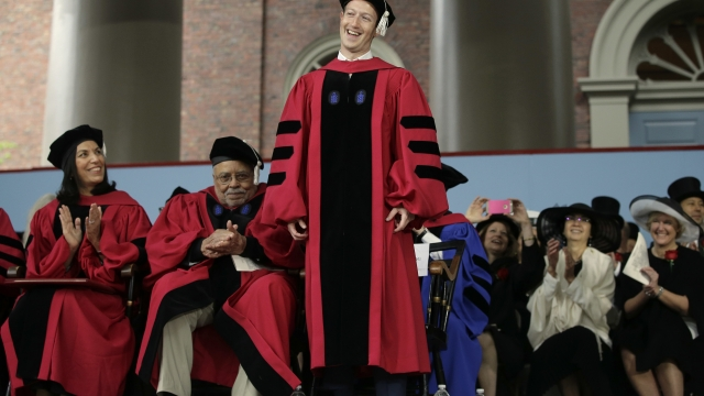 Mark Zuckerberg to give Harvard commencement address 12 years after dropping out