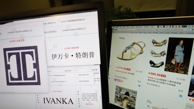 Men probing Ivanka Trump brands in China arrested, missing