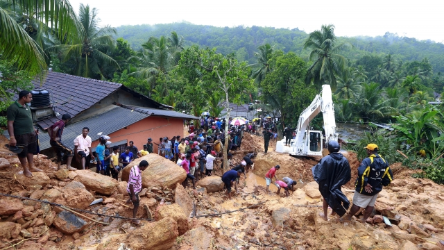 Landslide, floods claim 91 lives in Sri Lanka