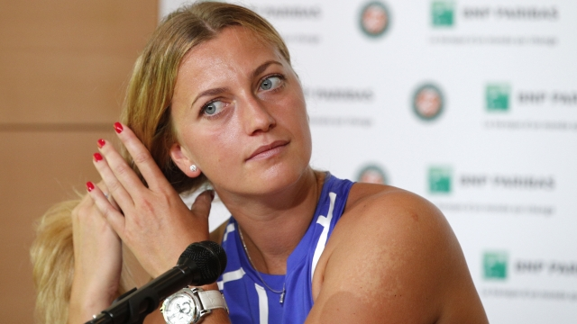 Petra Kvitova makes triumphant comeback at French Open