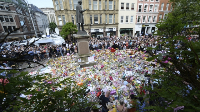 The Latest: Rex Tillerson pays tribute to UK bomb victims