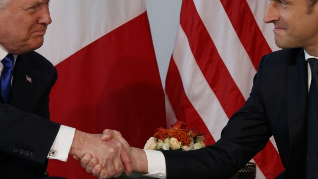 The reason behind Macron's firm handshake with Trump, revealed