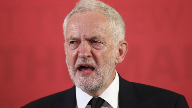 UK Labour leader links terror to wars as campaign resumes
