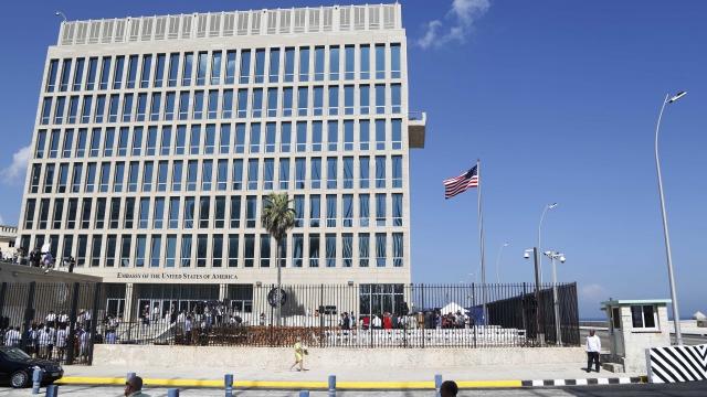 AP sources: US cuts embassy staff, urges no travel to Cuba