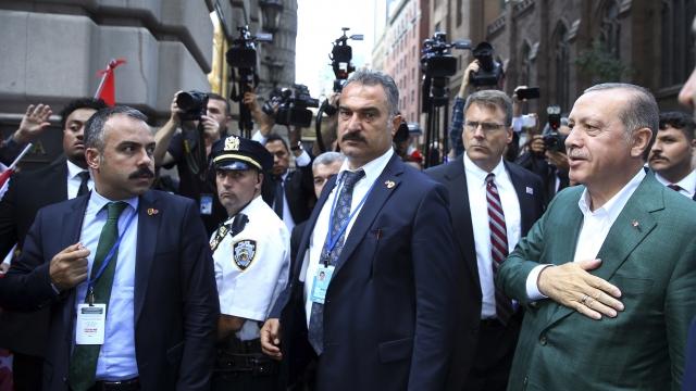 APNewsBreak: US nixes proposal to let Turkey guards buy guns