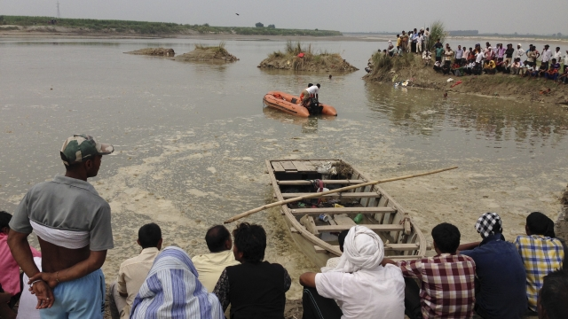 Six drown as boat capsizes in UP