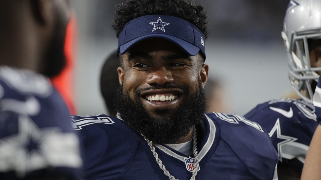 Cowboys' Elliott has 6-game ban upheld, but will play Week 1