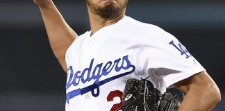 Darvish delivers as Dodgers beat Padres 9-3 for 100th win
