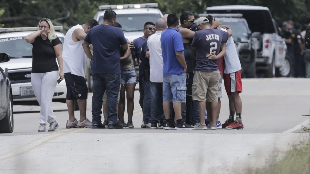 Desperate search for Harvey missing, funerals begin for dead
