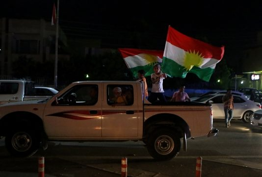 Iraq warns Kurds as they claim victory in independence vote