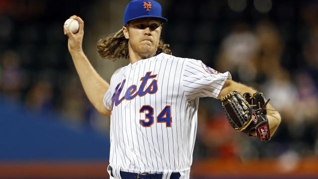 Mets ace Syndergaard returns, goes 1 shutout inning vs Nats