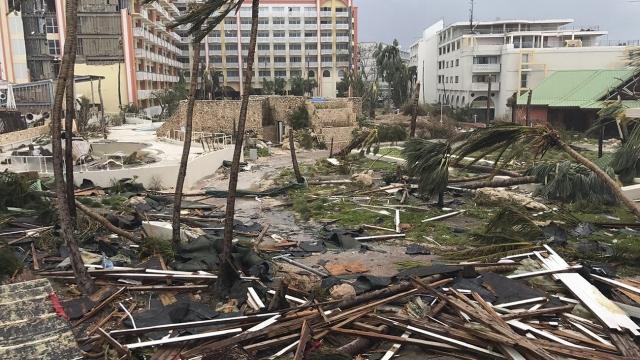 Nations rush to help islands devastated by Hurricane Irma