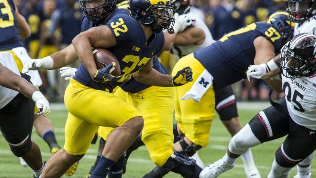 No. 8 Michigan looks sluggish in 36-14 win over Cincinnati