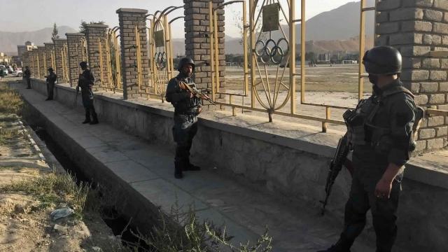 Officials: Bomber kills 3 outside Afghan cricket stadium