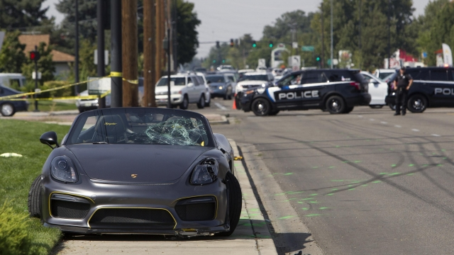 11 injured after Porsche crashes into crowd at vehicle show