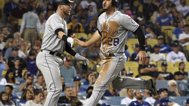 Rockies hand Dodgers 9th straight loss, worst skid since '92