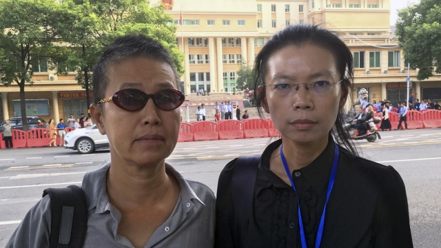 Taiwanese activist goes on trial in China