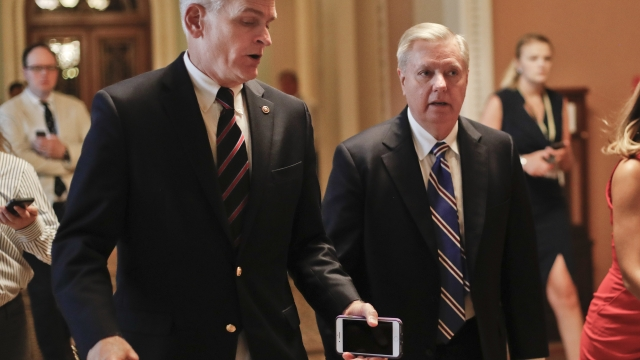 The Latest: Budget office needs more time on health bill