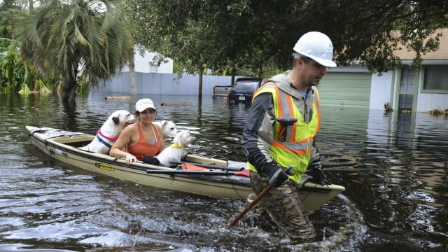 The Latest: Road into Keys must be inspected before opening
