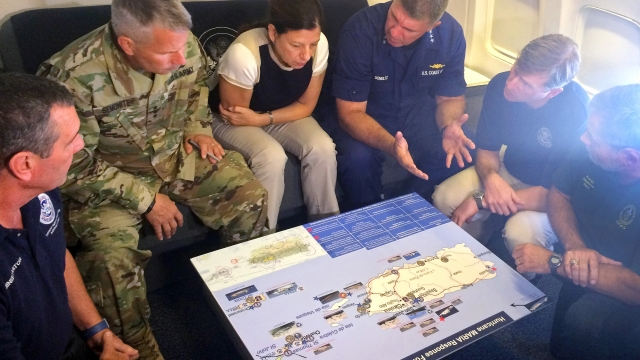 Missouri first responders return home after helping in Puerto Rico