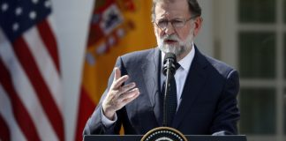 The Latest: Trump says Spain should remain united