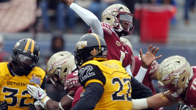 Florida State beats Southern Miss 42-13 in Independence