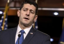 House Speaker Paul Ryan denies reports he may leave Congress