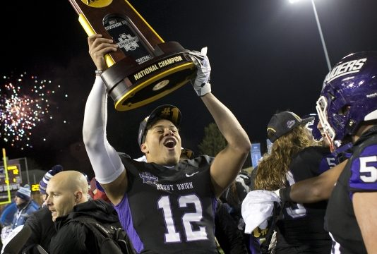 Mount Union beats Mary Hardin-Baylor 12-0 for D-III title