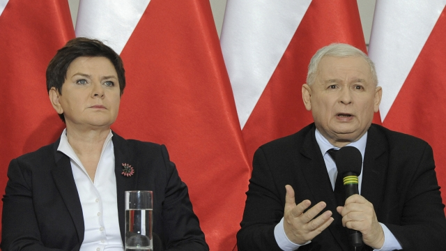 Poland taps finance chief to be its new leader