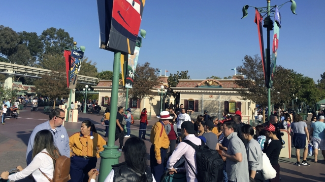 Power restored to Disneyland after outage shuts down a dozen rides