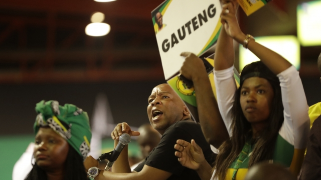South Africa's ruling ANC party to vote for new leader