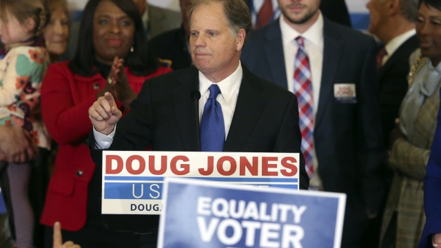 The Latest: Some in GOP cheered by Moore loss in Alabama