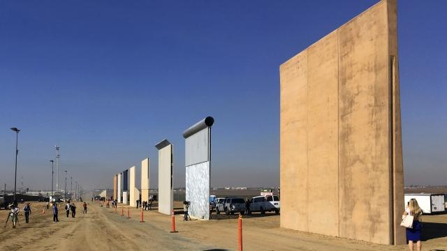 APNewsBreak: Border wall models thwart US commandos in tests