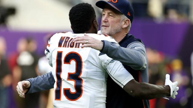 Bears fire coach John Fox after a 5-11 season