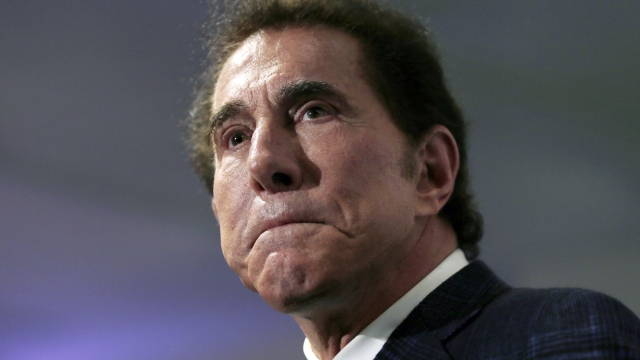 Casino mogul Steve Wynn resigns as top GOP finance chairman