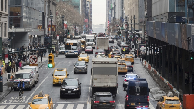 Congestion pricing: Driving in Manhattan could cost $11.52