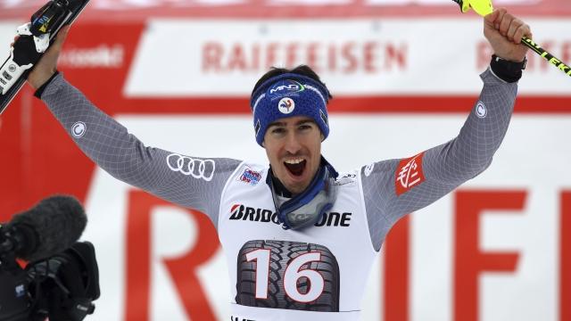 Muffat-Jeandet gets first career win in World Cup combined