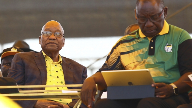 Zuma lists conditions for stepping down as president