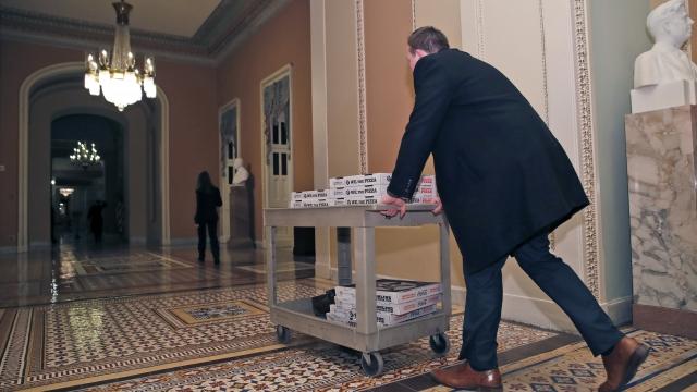 The Latest: Senate plans 10 p.m. vote to avert shutdown