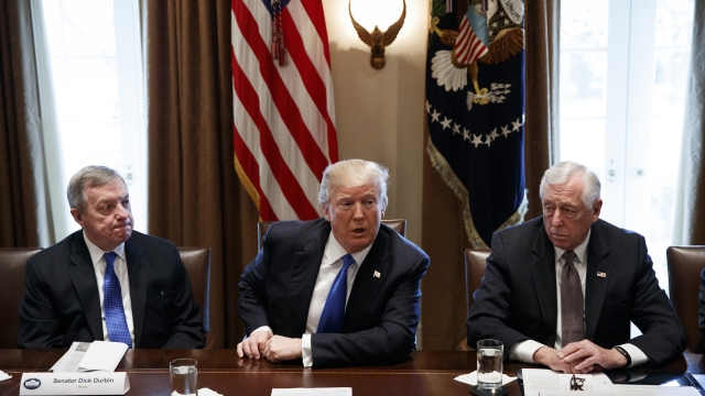 The Latest: Trump calls court system 'broken and unfair'
