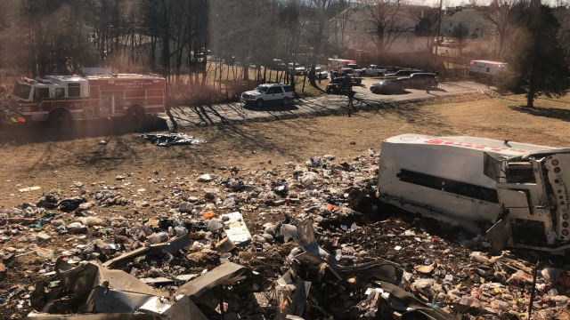 Train carrying GOP lawmakers to policy retreat hits truck