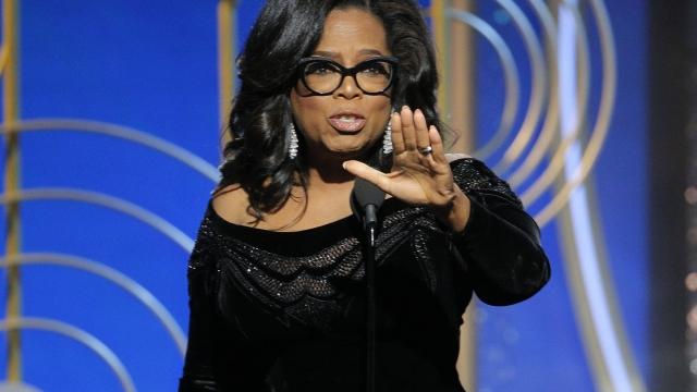 Winfrey's Golden Globes speech sparks talk of 2020 campaign