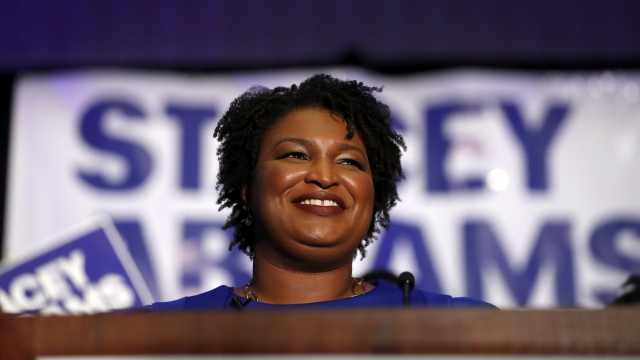A first for Georgia: Democrats pick black woman for governor