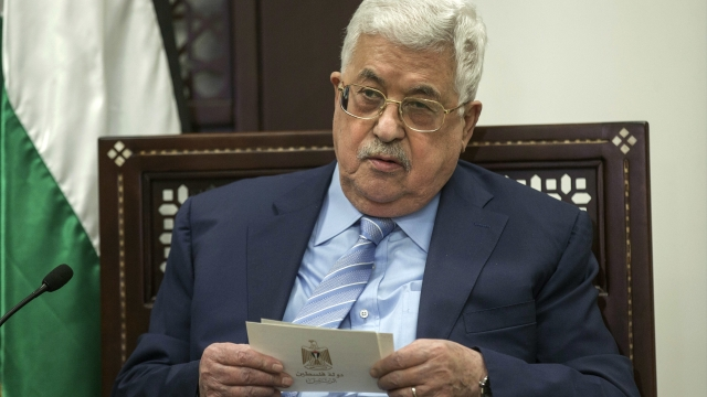 Aide: Palestinian leader making swift recovery in hospital