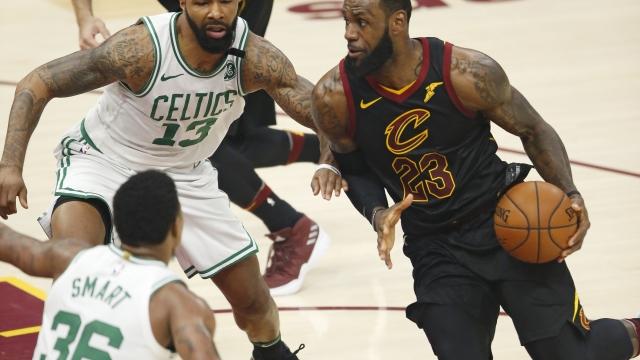 Boston bound: LeBron pushes Cavs to Game 7 vs. Celtics