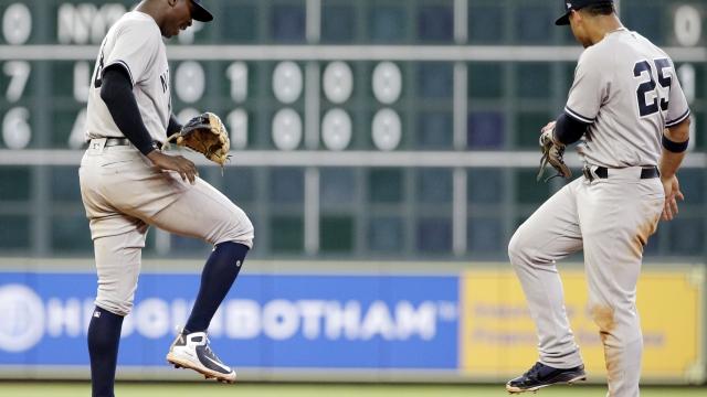 Chapman fans Altuve to end it, Yanks seesaw past Astros 6-5