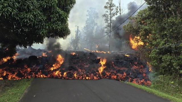 Science Says: Hawaii volcano has oozed hot lava for decades