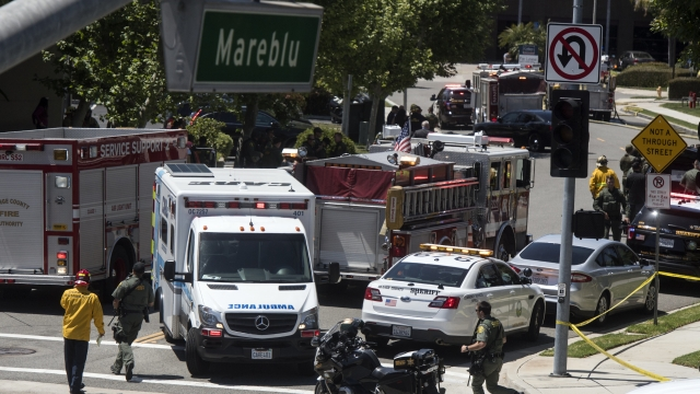Signs of bomb found at site of deadly California explosion