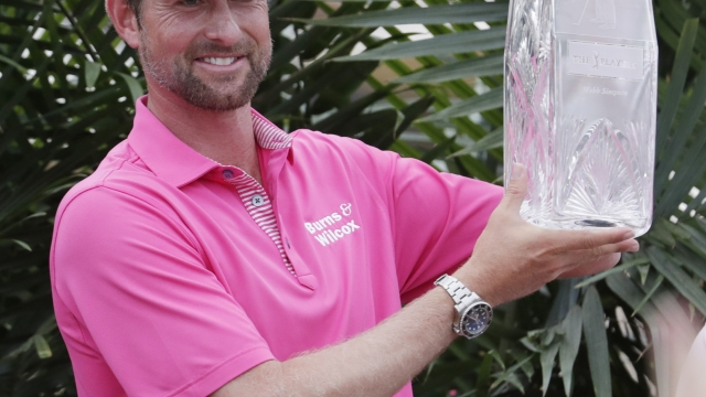 Simpson completes a big win at Players Championship