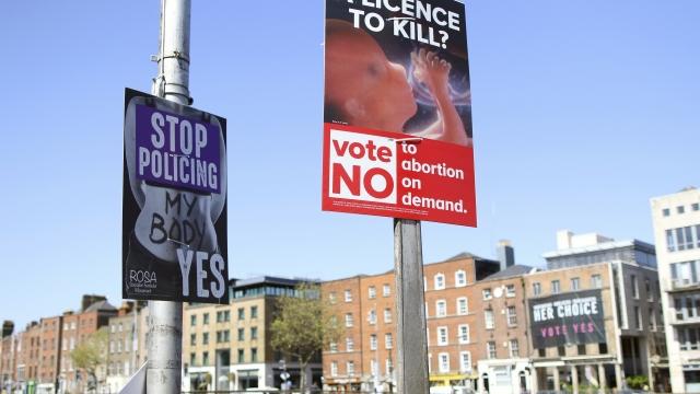 Social media under microscope in emotive Irish abortion vote
